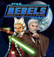Ahsoka and Ben (Rebels Fan Art) by Brian-Snook
