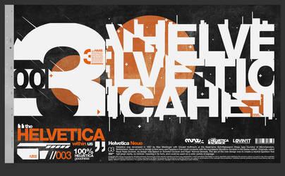 Helvetica Science Series 003 by LouieHitman