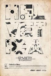 Helvetica Science Series 007 + in Renaissance + by LouieHitman