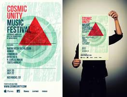 Cosmic Unity Music Festival by LouieHitman
