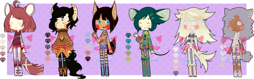 ADOPTS - Mixed Batch 4 [PP-Point CLOSED] by PokeCardz