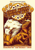 Fatso Jetson/ Yawning Man poster tour by Johannahoj