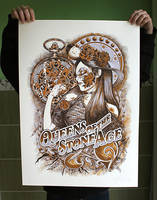 Queens of the stone age poster by Johannahoj