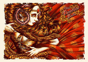 Desertfest poster 2014 by Johannahoj