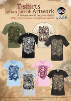 T-shirts johan jaccob artwork by Johannahoj