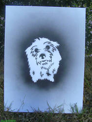 Stencil Scruff. by Allieonfire