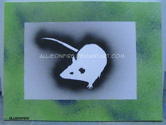 Rattus Stencilus. by Allieonfire