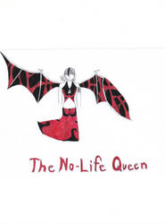 The No-Life Queen... by 6SeaCat9