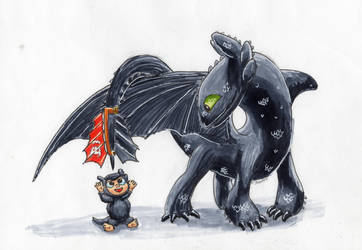 Toothless  by StewArt501st