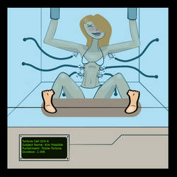 Kim Possible Tickle-Torture (censored) by cerber123