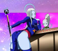 Mikoshin sama y su hija la infante Vados by dicasty1