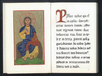A booklet of medieval comments to the Pater Noster by Pietrach
