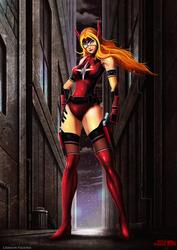 Crimson Valkyrie by Serathus