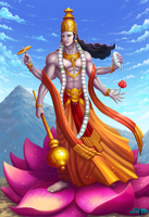 Vishnu (Commission) by Serathus