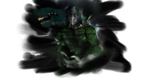 The Darkness Suit Concept Sketch by Neckshot