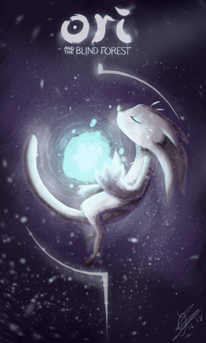 Fanart Ori And The Blind Forest By Bronyhands On Deviantart