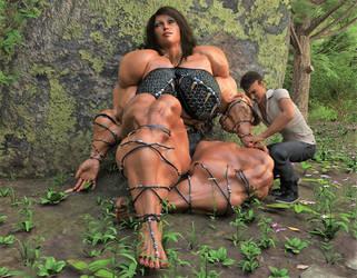 Amazon Jungle (Examining Arm) by Mrlex303