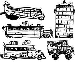 SUM: 27 Bussies by Alex-Arrow