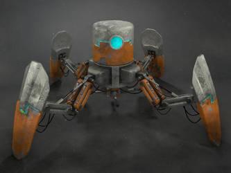 Robit crab by SteveGibson