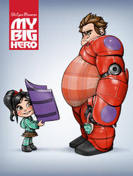 My Big Hero by SteveGibson