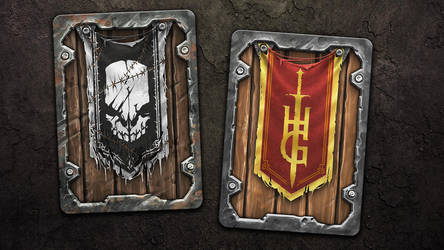 Hunter's Guild Card Design by SteveGibson