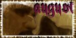 August Fan Stamp by BucklesInTheSun