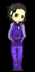 Jon Davis Pixel Doll 2 by Badgerkai
