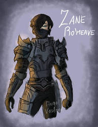 The emo knight by MagentaButterfly123
