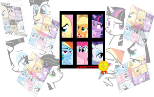 Ponies With Attitude Design by ShelltoonTV