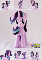 Starlight Glimmer plush 4 and 5 by nekokevin