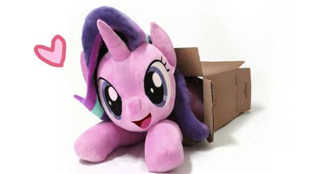 Starlight Glimmer plush in box by nekokevin