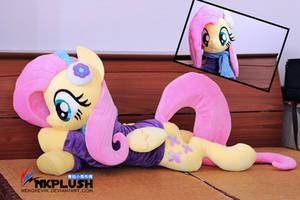Fluttrshy Plush by nekokevin