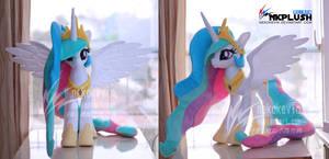Princess Celestia plush 3-1 by nekokevin
