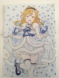 Love Live Sunshine Hanamaru Kunikida Snow Fun by Usagicrystal12