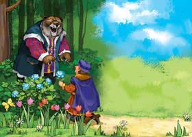 Illustration for children by szalstudio