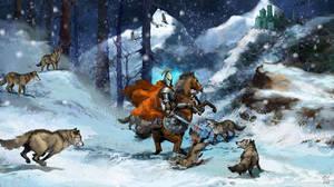wolf pack by szalstudio