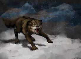 Wolf by szalstudio