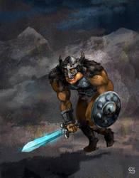 Warrior by szalstudio
