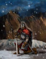 Knight by szalstudio