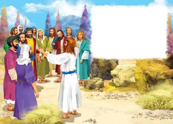 Jesus and the apostles by szalstudio