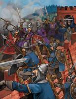 Battle by szalstudio