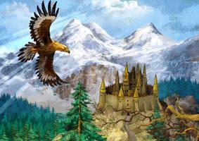 Golden-eagle by szalstudio
