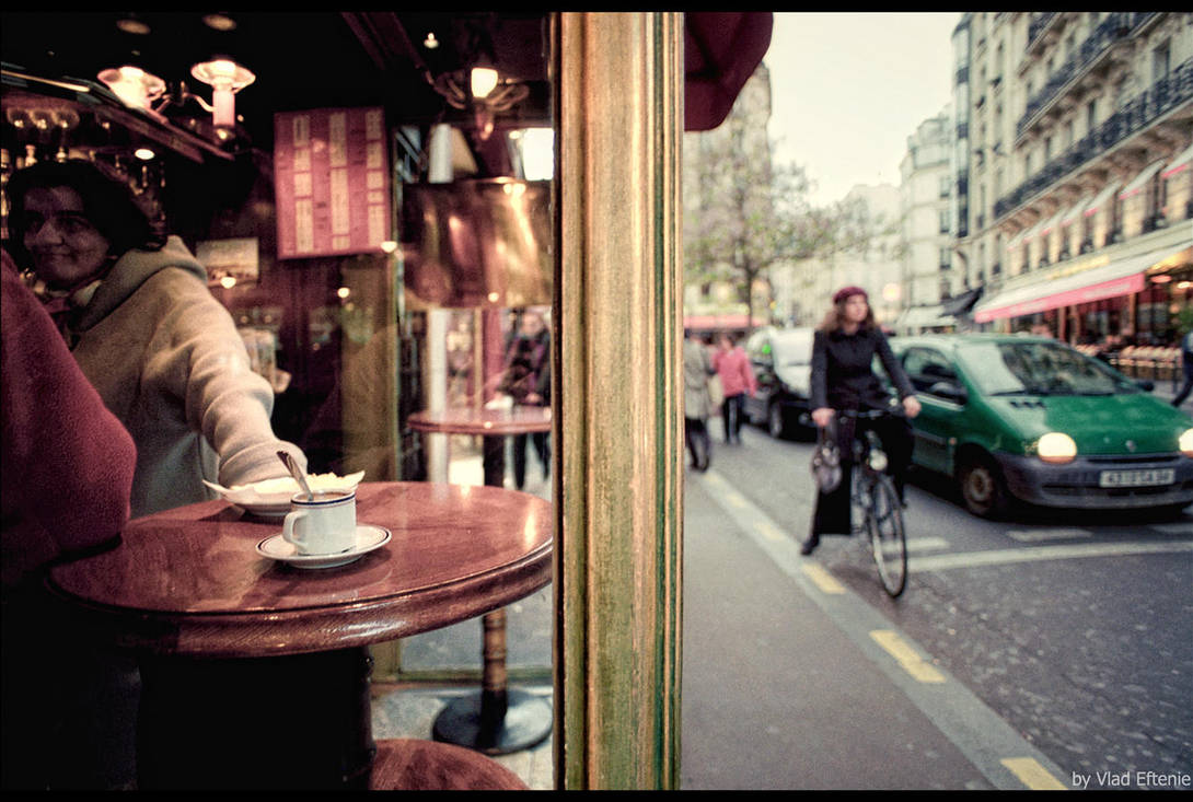 Cafe de Paris by veftenie