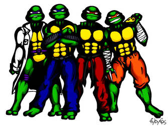 TMNT by flybyfps