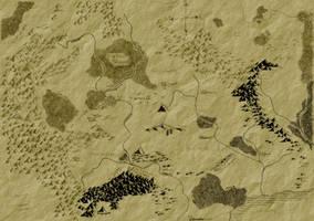 Map of Ennorath by tomignatius