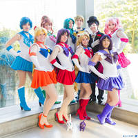 SMC - Sailor Guardians of Love and Justice by Eli-Cosplay