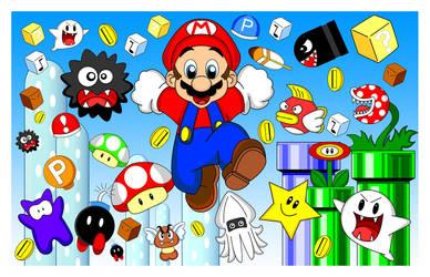 Super Mario by EmperatrizAyumi