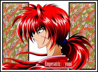 Kenshin Himura Digital Version by EmperatrizAyumi