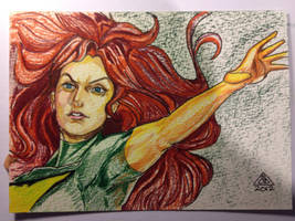 Jean Grey by abart01
