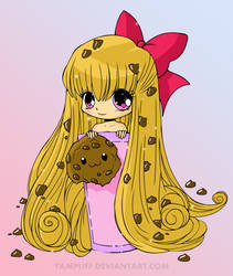 Cookie girl by AquarianSoldier